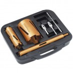6 Piece DRY Diamond Core Drills Kit